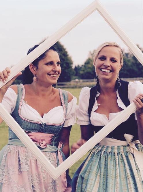 Anna und Julia Grenzebach Hofladen in Grasbrunn