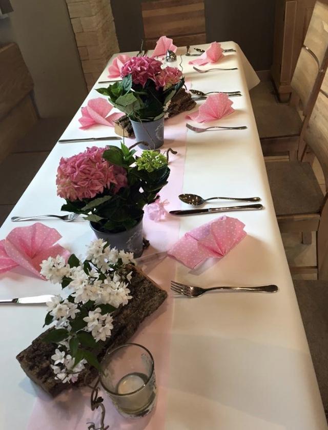 Hofladen Tischdekoration